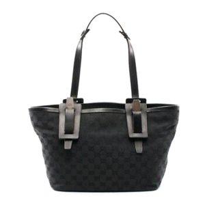 Authentic Vintage Gucci Razor Black Tote Bag